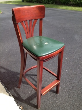 Bar stools all the way from Poland
