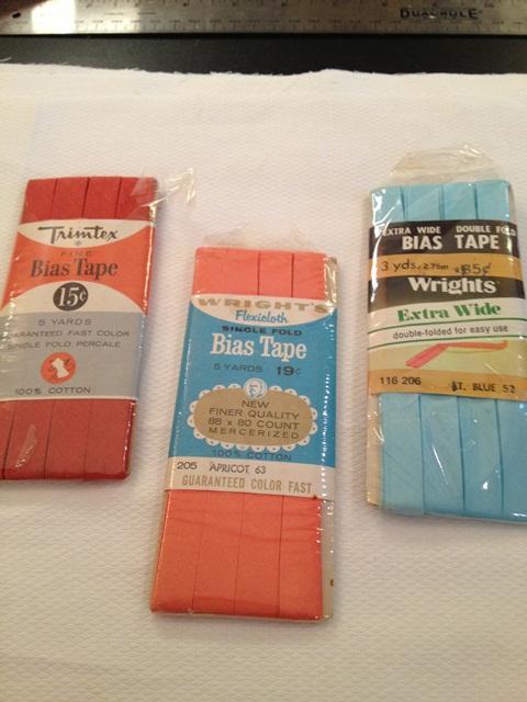 UnPaper Towel - Bias Tape from the 1950's