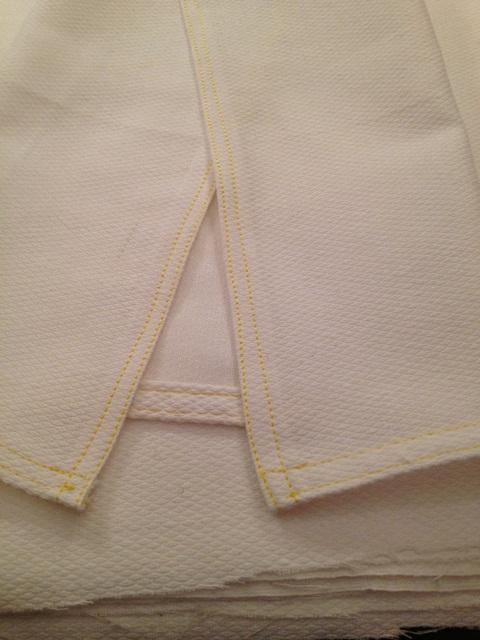 UnPaper Towel - Seamed edge approach
